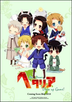 Hetalia Game Promo Poster by KawaiiPandah