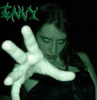 Seven Deadly Sins: Envy by ColdAngelicPortrait