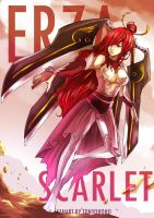 Erza Scarlet After Timeskip by tonyohoho