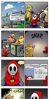 Shy Guy Adventures: License to Kart by QuadForceFive