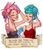 hair toners by Fukari