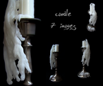 candle stock pack by AletheiaFelinea