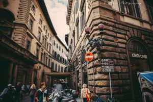 A Street in Florence. by triciavictoria