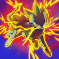 giftmas 2011 LUXRAY used THUNDER FANG by Zilleniose