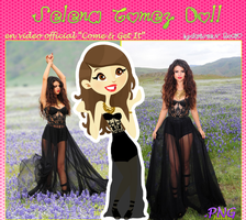 Selena Gomez Doll(Come and Get It Video Official) by RoohEditions