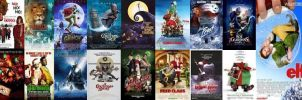 Seventeen Christmas Movie Titles by EspioArtwork31