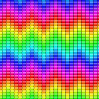 Vibrating Spectrum Pattern by Humble-Novice