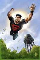 Mike Norton Superboy by M-Atiyeh