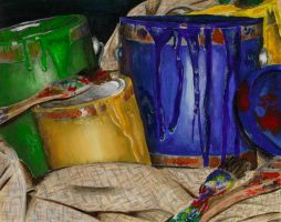 Paint Cans by Wisher367