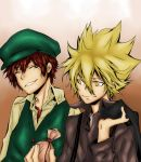 KHR: Cozart and Giotto by winter-kid