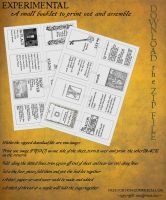 Book of Shadows Booklet 01 by Sandgroan