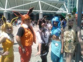 Cos-Gals at Anime Expo 2015, Los Angeles by Namco-NintendoFan-88