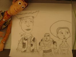 Toy Story 3 with Woody Pride by spidyphan2