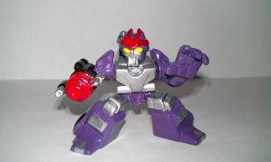 Transformer Robot Heroes Custom Decepticon Bounty  by alx333