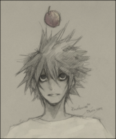 Death Note - L by Rousteinire