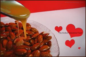 Honey Soaked Almonds by Midnight-Cardinal