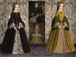Mary Tudor by Nurycat