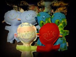 lollipop heads detail by wiccanwitchiepoo