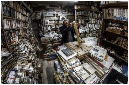 Matsumoto's Bookseller by Graphylight