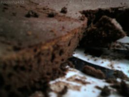 Chocolate cake by Fiaziinha483