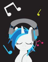 Vinyl Scratch Jammin' by Megandash