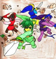 Legend of Pokemon: Spin Formation!! by Ask-Dark-Toon-Link