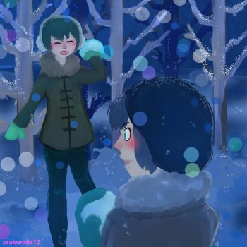 Harmony Blue Snow by xsakuralix12