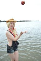 Applejack at the beach 13 by shelle-chii