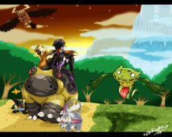 Sinnoh - What next? by TamarinFrog