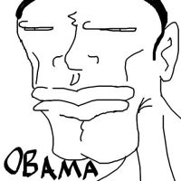 Obama Sees What You Did There by Artist-Man