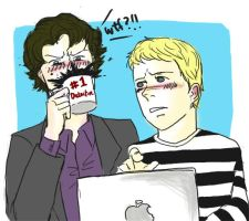 John and Sherlock Discovers... by Radculas