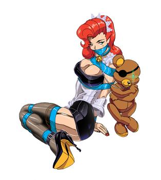 Bear Maid by we-r-nomad