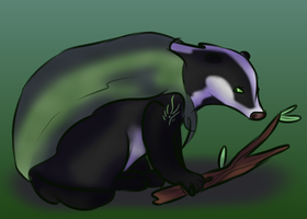 Badger by ToonMidna1