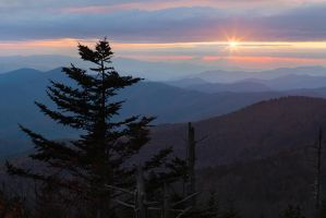 Clingmans Twilight by cdenisr