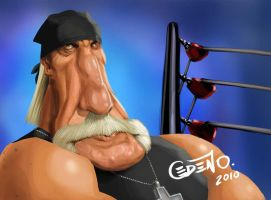 Hulk Hogan by allanced