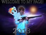 TheNerdyGeek Profile pic of 2013 by TheNerdyGeek