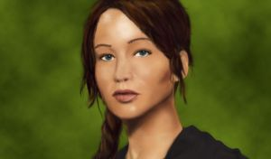 Katniss Everdeen by ktmadden