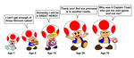 When I Grow Up  - Toad by DarkDiddyKong