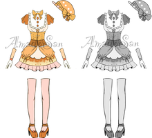 Victorian cute Outfits Adoptable Closed by AS-Adoptables