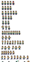 Lance Sprites by ElectricStaticGamer