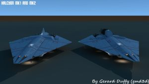 Halcyon MK1 and MK2 Twain by gmd3d