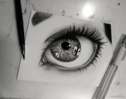 Eye Study II by CosmosKitty