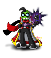 ML:DSC  ~Fawful~ -concept art- by Rhay-Robotnik