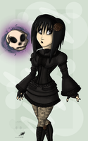 ::Lil' Miss Gloom and Doom:: by RatchetJak