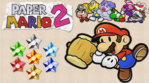 Paper Mario 2 - Wallpaper by DaShyster