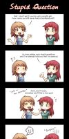 Stupid question by Tenshi-no-Hikari