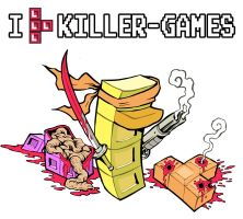 Entoman: I [Tetromino] Killer Games by Yeocalypso