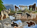 Wulfs Preset packs with wolves by WulfTheWolf