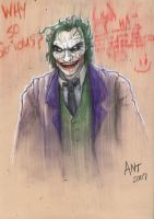Pastel Dark Knight Joker by antmanx68