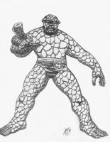Ben Grimm again by theRealJohnnyCanuck